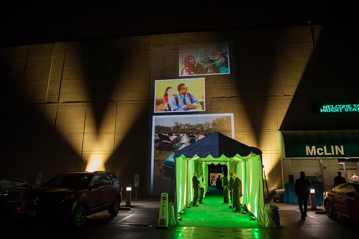 VIP arrival entrance.