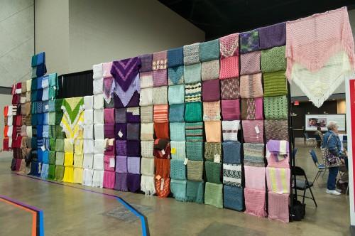 Prayer shawl wall