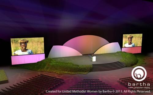 UMW stage concept render