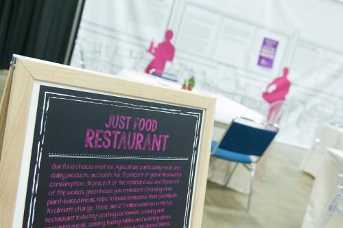 The Restaurant exhibit