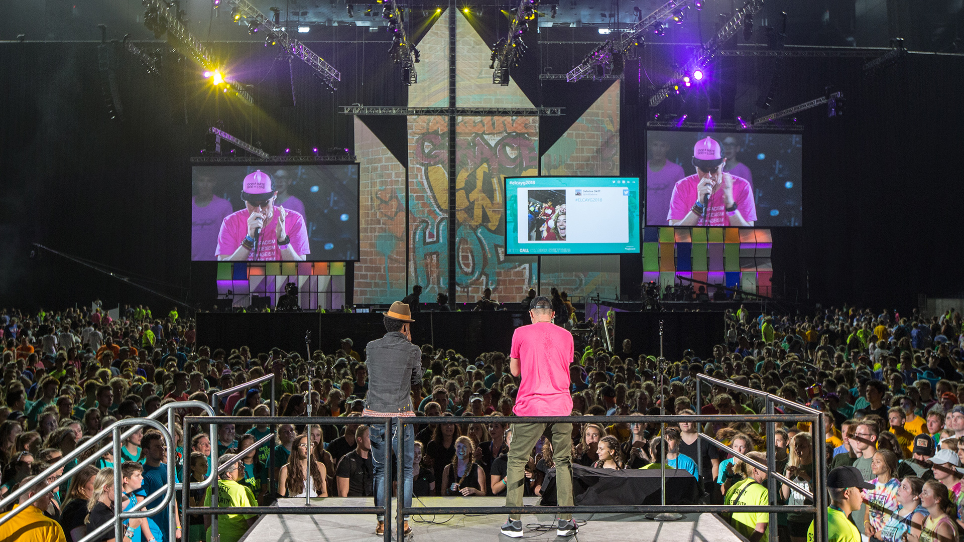 ELCA: Stadium-sized Scale and Spectacle to Captivate a Young Audience